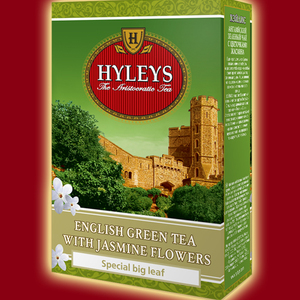 English Green Tea with Jasmine Flowers from HYLEYS