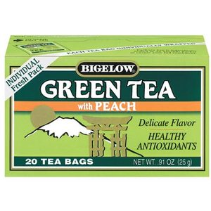 Green Tea With Peach from Bigelow