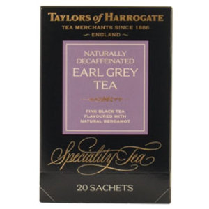 Decaffeinated Earl Grey Tea Bags from Taylors of Harrogate