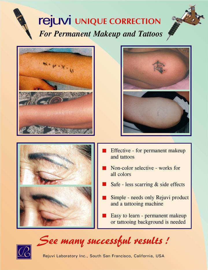 ThinkGlobal: Rejuvi Tattoo Remover - Rejuvi Laboratory USA