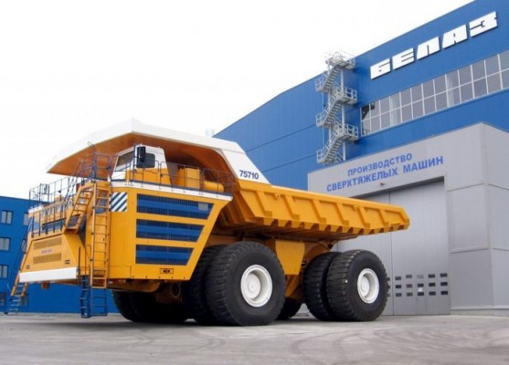 Largest Dump Trucks in the World
