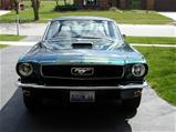 1966 Green Mustang Fastback