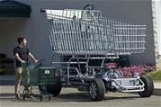 Giant Shopping Cart