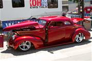 kandy 2 tone and metal flake 39 chevy coupe