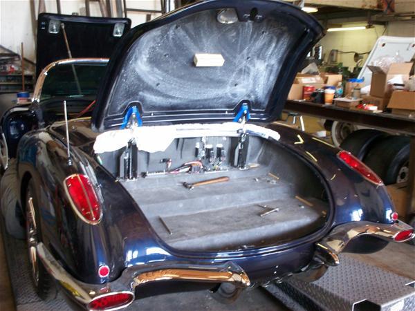 Winning Ride DavidSemel s Chevrolet Corvette 1958