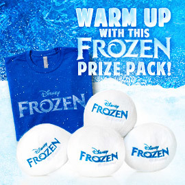 Enter + win our Frozen prize pack!