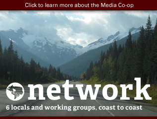 Things the Media Co-op does: Network