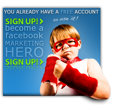 Sign up for mediafeedia - the only business tool for Facebook