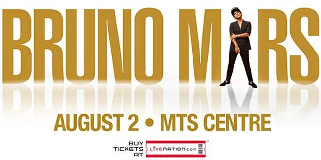Bruno Mars in Winnipeg