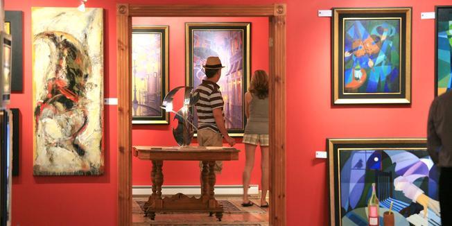 Tournée des galeries d'art de Baie-Saint-Paul