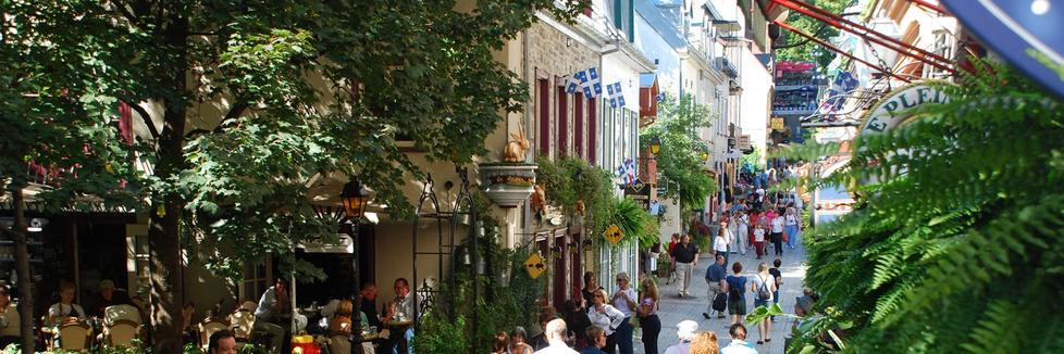 Le Vieux-Québec : patrimoine mondial de l'UNESCO