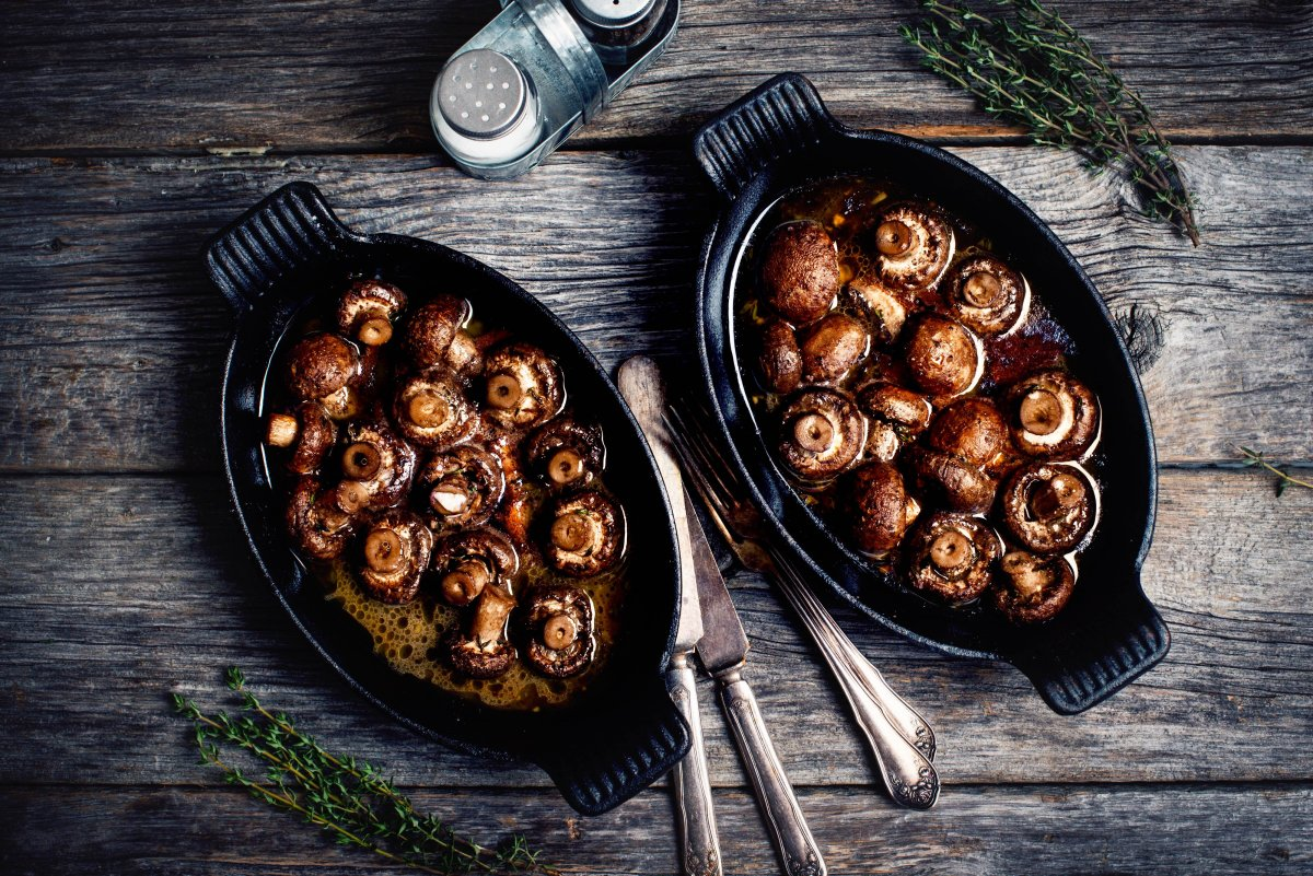 our three ways to cook mushrooms recipe   natrel   natrel