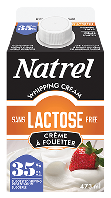 lactose free 35 whipping for your dessert recipes natrel natrel