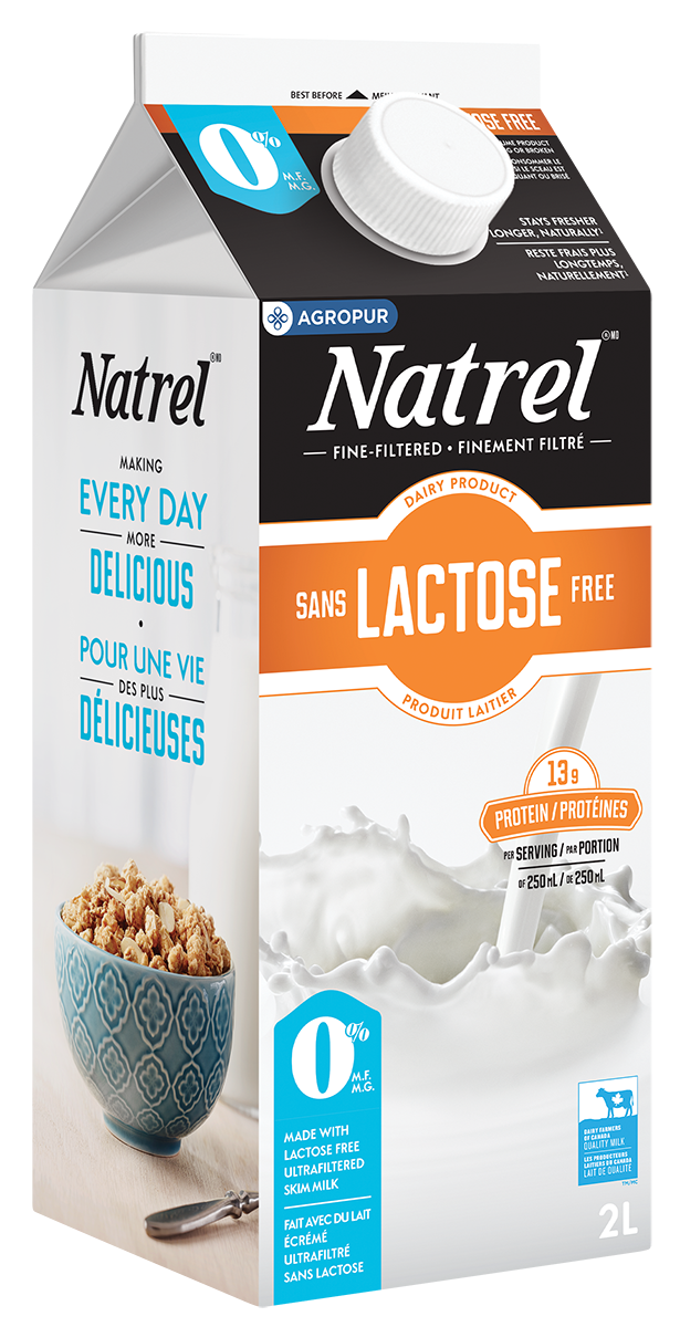 natrel lactose free skim natrel natrel. Black Bedroom Furniture Sets. Home Design Ideas