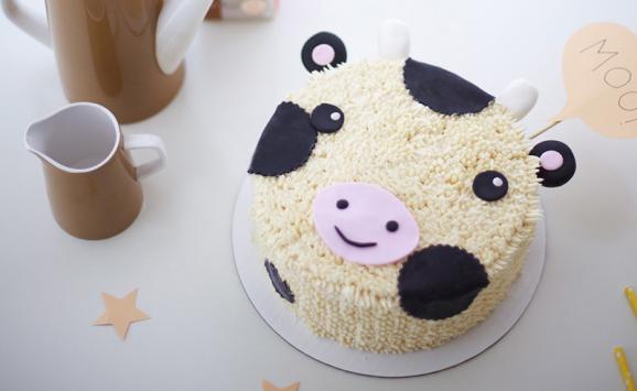 décoration de gâteau en forme d'animal | natrel | natrel