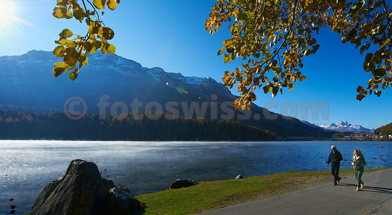 St.Moritz Herbsttag Autumn Day photos