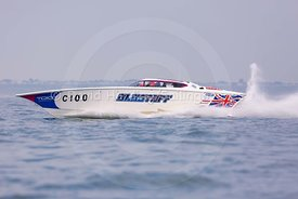 Blastoff, C-100, Fortitudo Poole Bay 100 Offshore Powerboat Race, June 2018, 20180610196