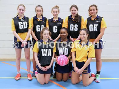 U15 Netball v Ribston. 31st Jan 2017 photos