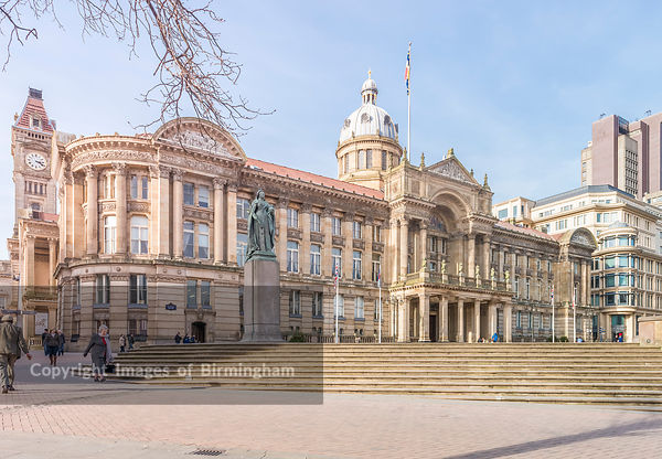 The Council House, Victoria Square, Birmingham, England