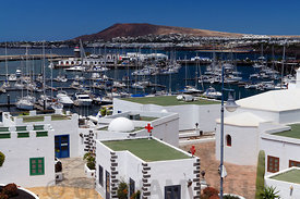 Marina Rubicon, Las Caloradas, Playa Blanca, Lanzarote, Canary Islands, Spain.