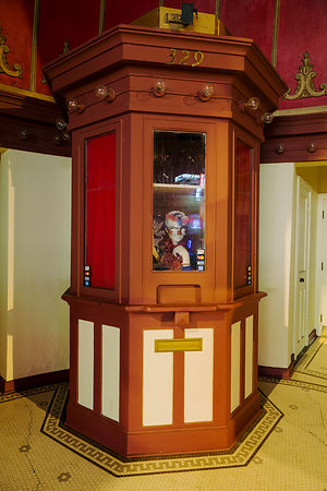 Ticket Booth for the Daisy Theater