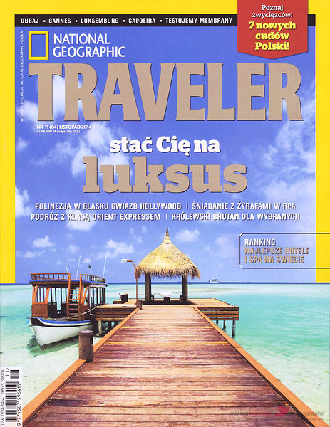 National geographic traveler Poland cover