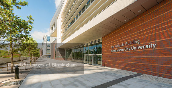 The Parkside building, Birmingham City University, Birmingham.