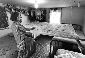 J. Hatfield quilting in home