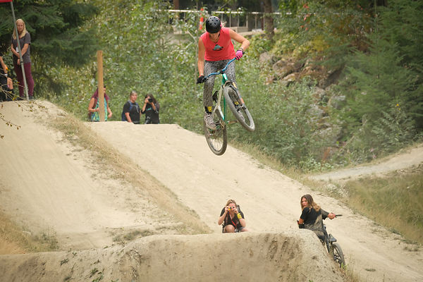 Sat Aug 18th - The Riverside Women's Only Jump Jam bike park photos