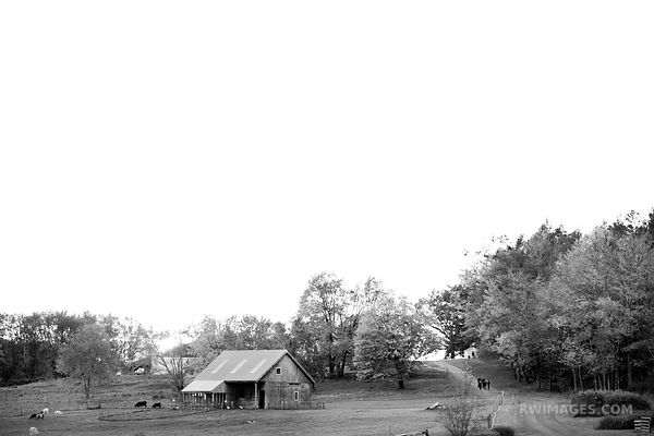 USETTS RURAL NEW ENGLAND BLACK AND WHITE