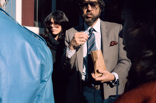 Man with Bag of Nuts, NYC, 1985