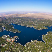 Lake Arrowhead Aerial Photography photographies