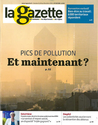 La Gazette, 24 Octobre 2016