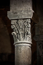 Notre Dame basilica's capital, Orcival