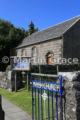 Iona Parish Church (1828), Isle of Iona,  Inner Hebrides, Scotland