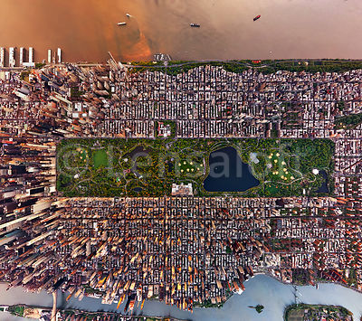 Central Park, New York - Vertical