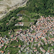 Cambiasca aerial photos