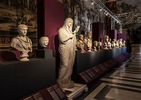 Rome, The Age of Anquish Exhibition at the Capitaline Museum