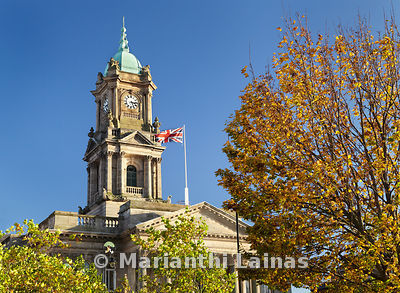 Birkenhead Town Hall, autumn (2)