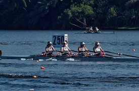 Taken during the Cambridge Town Cup and NI Championships 2018, Lake Karapiro, Cambridge, New Zealand; ©  Rob Bristow; Frame  - Taken on: Sunday - 28/01/2018-  at 09:14.23