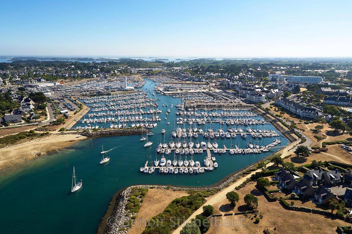 Benoit Stichelbaut Photographer France Morbihan Arzon Port - Thalasso port crouesty