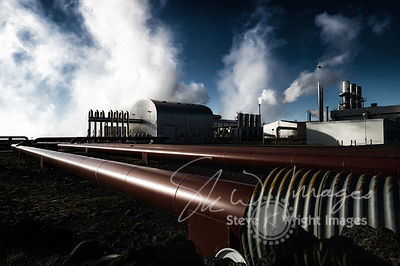 Svartsengi Geothermal Power Station - Reykjanes Peninsula, Iceland (Take 2)