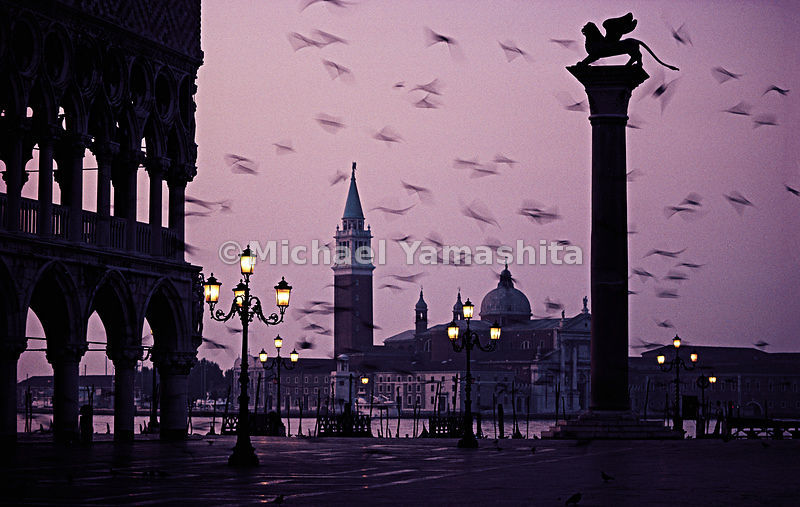 A deserted St. Marks Square: as rare today as it was in Marco Polo's lifetime.