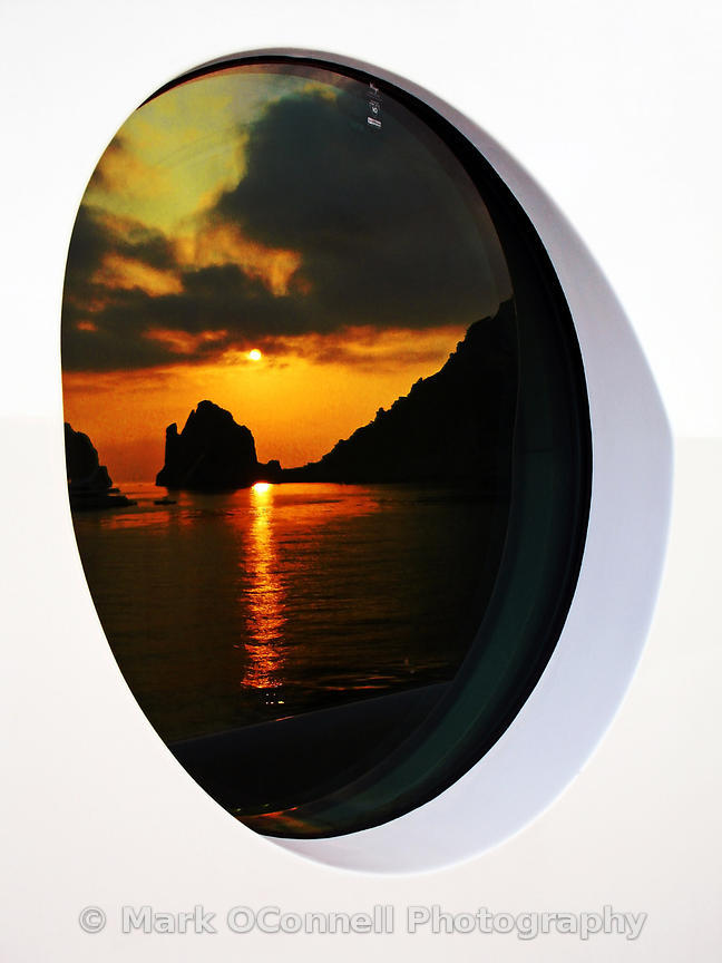 Capri sunrise reflection