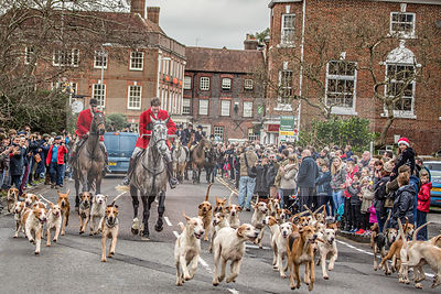 Boxing Day Meet, Portman Hunt 2015 photos
