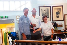 Prize-giving at Weymouth Regatta 2018, 20180909007.
