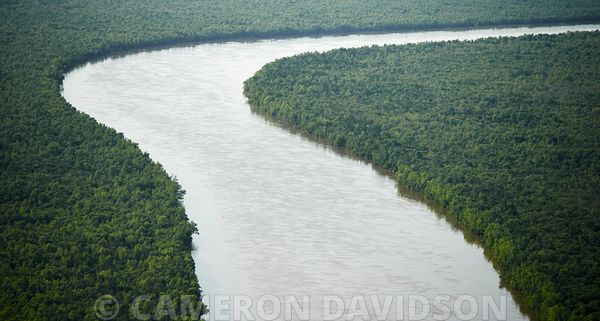 Aerial Photo, Atchafalaya, Louisiana