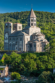 Romanesque churches of Auvergne photos