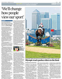 Daily Telegraph 6 July 2011.3527777 - Steven Paston