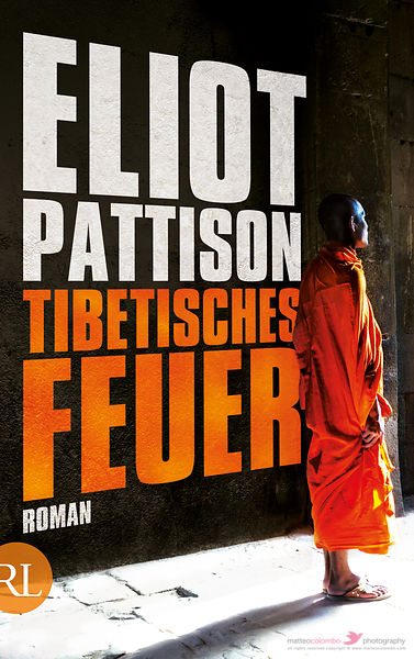 Book cover Eliot Pattison Tibetisches Feuer